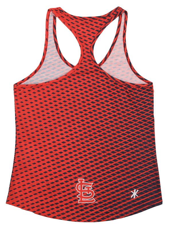 Forever Collectibles MLB Women's St. Louis Cardinals Diamond Racerback Tank