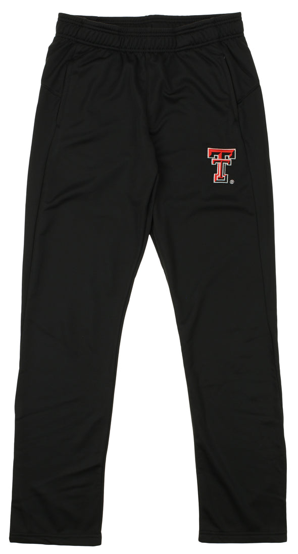 OuterStuff NCAA Men's Texas Tech Red Raiders Helix Track Pant, Black