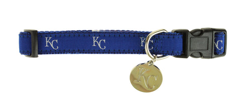 Sporty K9 MLB Kansas City Royals Ribbon Dog Collar