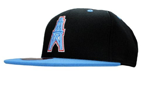 1e398704f16dad Mitchell & Ness NFL Retro Houston Oilers Fashion Fitted 2-Tone Hat, Black