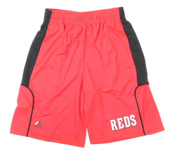 Outerstuff MLB Youth Cincinnati Reds Batters Choice Shorts, Red