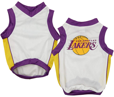 3424211b17 Sporty K9 NBA Los Angeles Lakers Basketball Dog Jersey