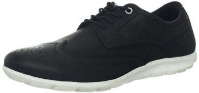 Rockport Men's Truwalk Zero Wingtip Oxford Shoes, Black / White