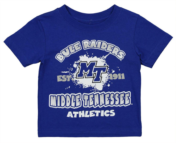 Outerstuff NCAA Toddlers Middle Tennessee Blue Raiders Graphic Tee, Blue