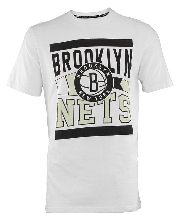 Zipway NBA Men's Brooklyn Nets T-Shirt, White