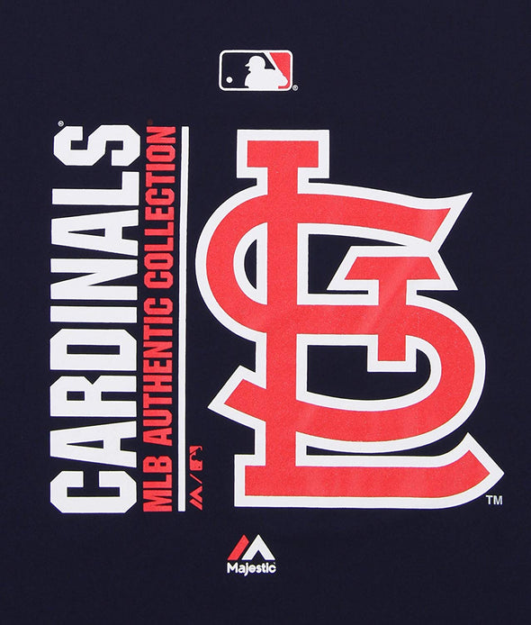 Outerstuff MLB Youth St. Louis Cardinals Short Sleeve AC Team Icon Tee, Navy