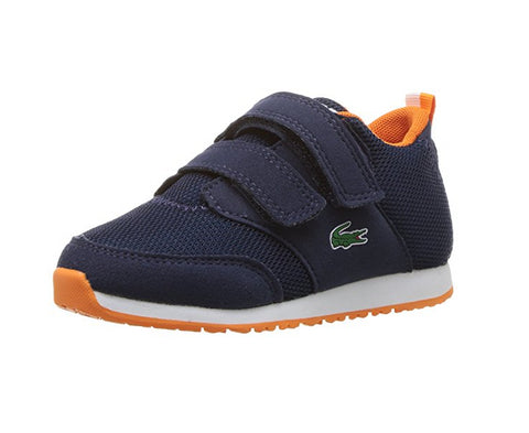 Lacoste Infant/Toddlers L.Ight 217 Sneaker, Navy