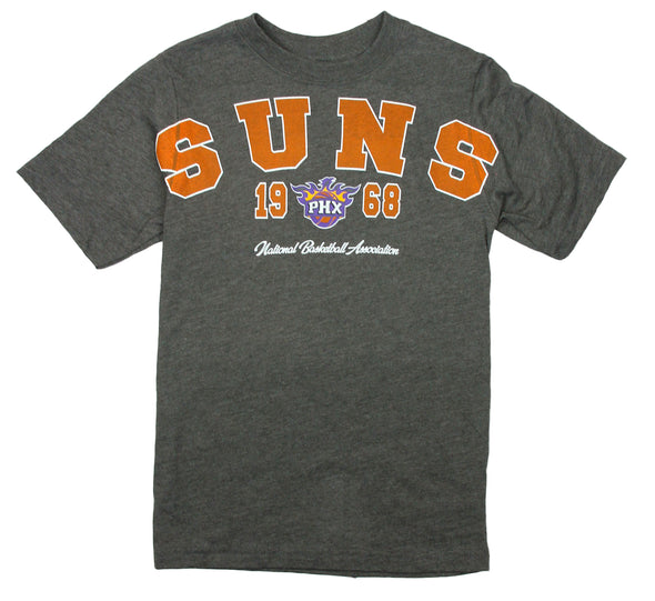 NBA Basketball Youth Boys / Little Boys Kids Phoenix Suns Play Dri Tee T-Shirt, Grey