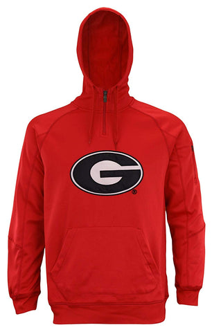 "Outerstuff Men's NCAA Georgia Bulldogs ""Fan Basic"" 1/4 Zip Hoodie"