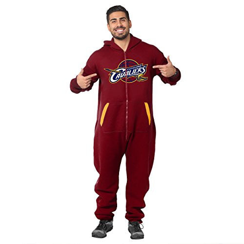 Forever Collectibles NBA Unisex Cleveland Cavaliers Logo Jumpsuit