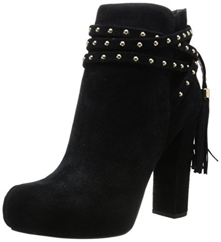 Jessica Simpson Women's Marguerit Heeled Ankle Boot Bootie, Black