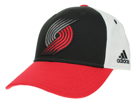 Adidas NBA Youth Portland Trail Blazers Color Block Structured Adjustable Cap