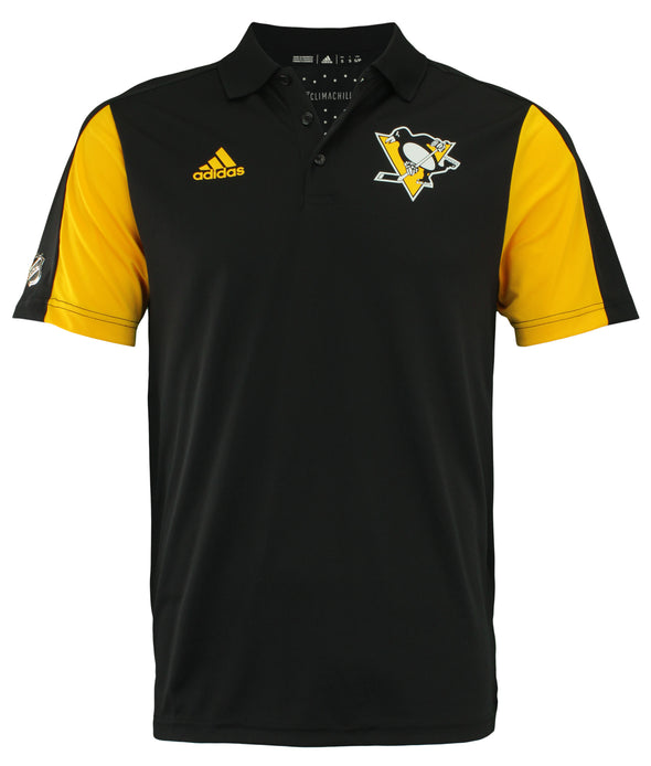 Adidas NHL Men's Pittsburgh Penguins 2017 Authentic Game Day Polo Shirt