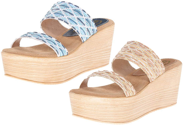 Sbicca Women's Sesillia Wedge Sandal, 2 Color Options