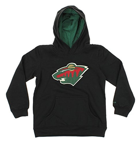 Reebok NHL Youth Minnesota Wild Prime Basic Pullover Hoodie