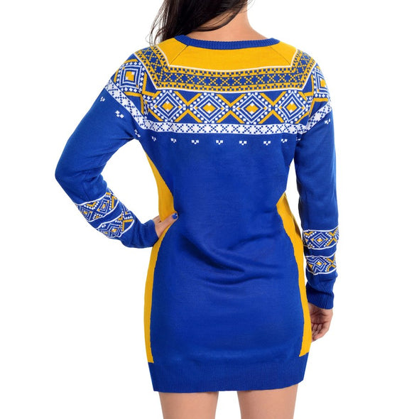 Forever Collectibles NBA Women's Golden State Warriors Big Logo Sweater Dress