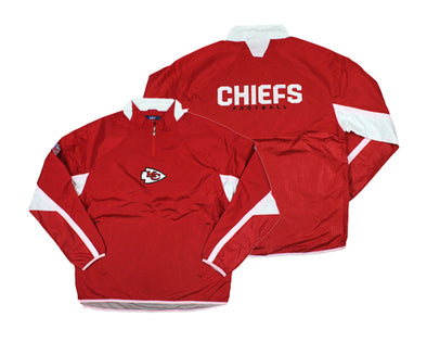 Kansas City Chiefs NFL Reebok Men's Apache Hot Jacket, Red