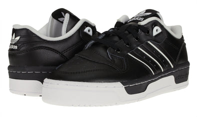 Adidas Big Boy's GS Rivalry Casual Sneakers, Black/White
