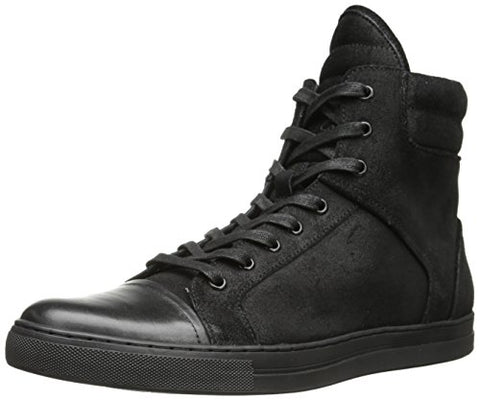 Kenneth Cole New York Men's Double Header Fashion Sneaker Shoes - Black