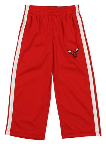Outerstuff NBA Youth Chicago Bulls Dribble Mesh Pants, Red