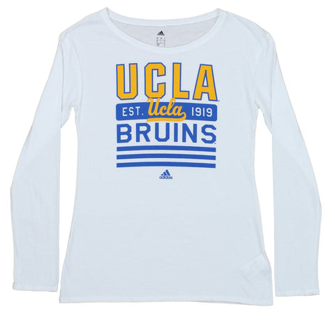 adidas NCAA Women s UCLA Bruins Long Sleeve Team Graphic Tee 32e5f9bb7