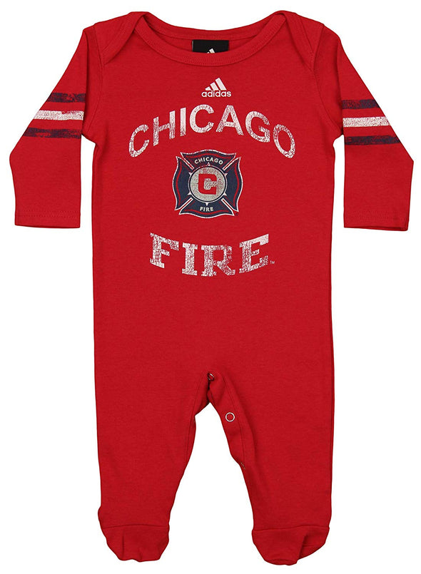 Adidas MLS Infant Chicago Fire Field Coveralls, Red