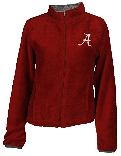 Alabama Crimson Tide NCAA Womens Teddy Fleece Jacket