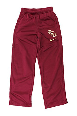 132a7df9 Nike NCAA Youth Florida State Seminoles ThermaFIT Fleece Athletic Track  Pants