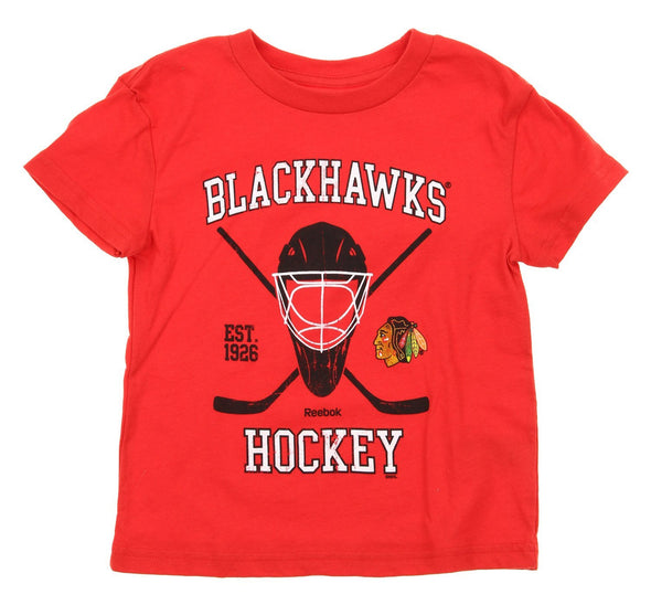 Reebok NHL Kids Chicago Blackhawks Coat Of Arms Shirt