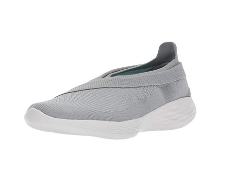 YOU by Skechers Women's Luxe Slip-On Shoes, Grey