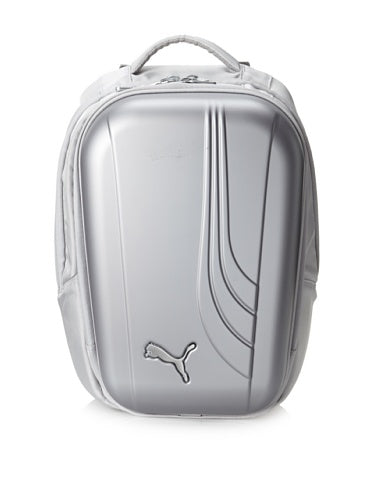 PUMA Men's Barometer Laptop Backpack Bag, Silver