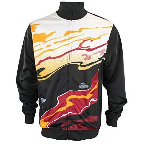 Zipway NBA Mens Cleveland Cavaliers Streaky Full Zip Athletic Jacket