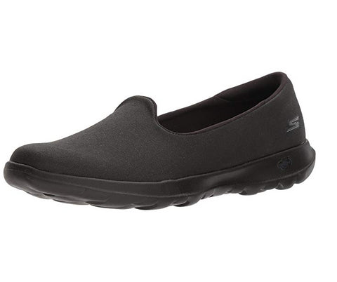 Skechers Women's Go Walk Lite - Felicity Slip On Flat, Black