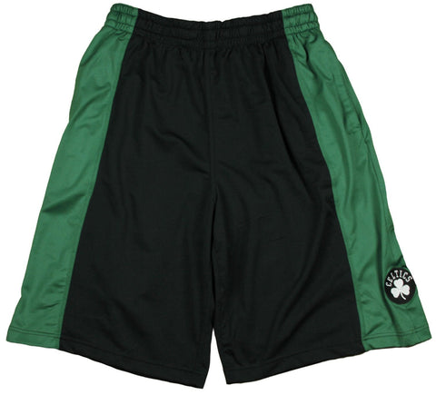 Zipway NBA Big Men's Boston Celtics Malone Basketball Shorts, Black
