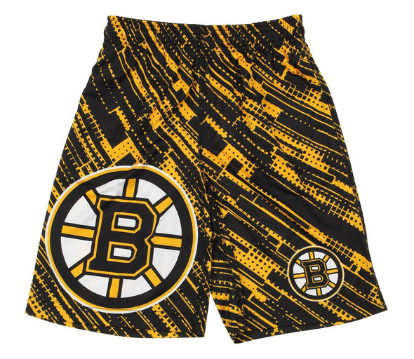 KLEW NHL Youth Boston Bruins Game Day Shorts