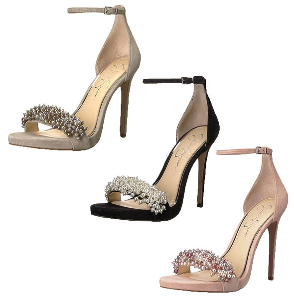 Jessica Simpson Women's Rusley Heeled Sandal, Color Options