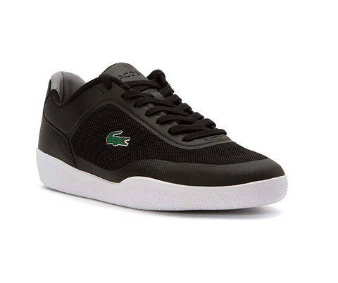 Lacoste Men's Tramline 116 1 SPM Fashion Sneaker, Black