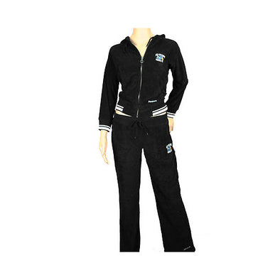 Ladies Terry Cloth NBA Jog Suit t by Reebok, 76ers Grizzlies Hornets S-XL