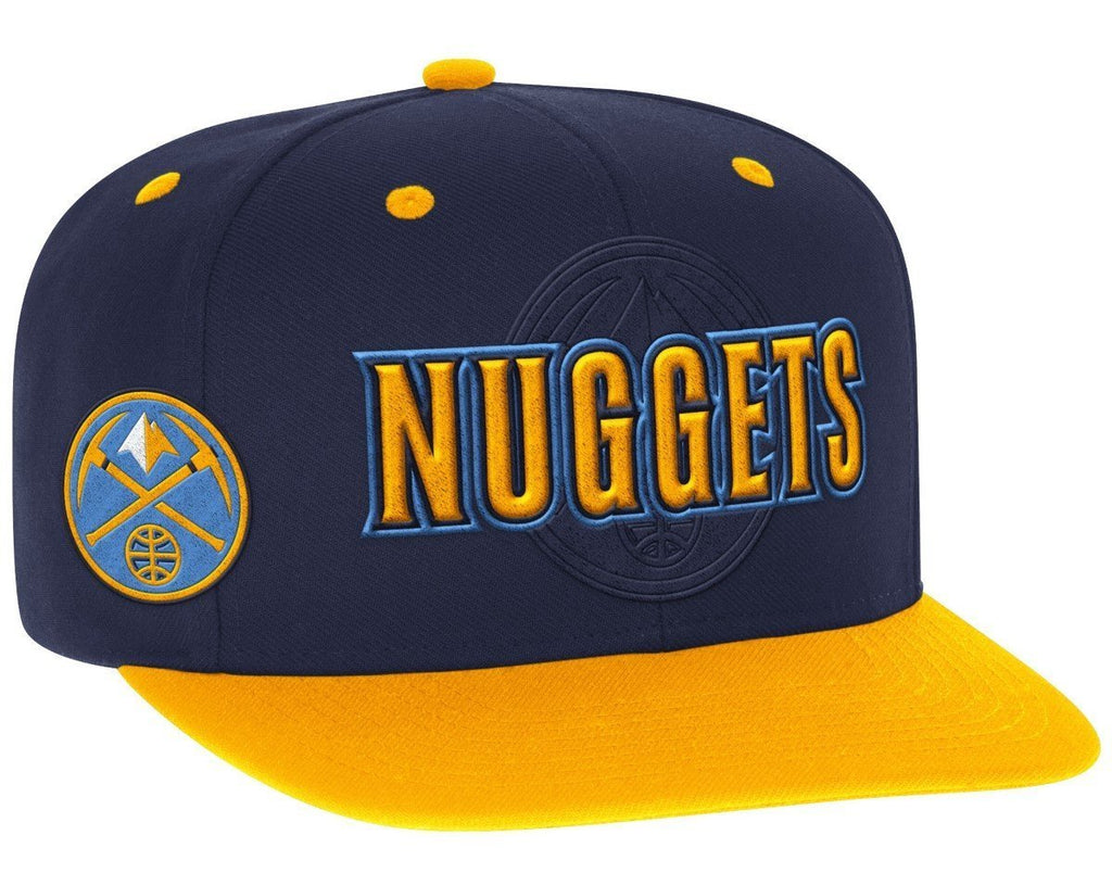 6c1f43b6719 Adidas NBA Men s Denver Nuggets 2016 Draft Day Authentic Snap Back ...