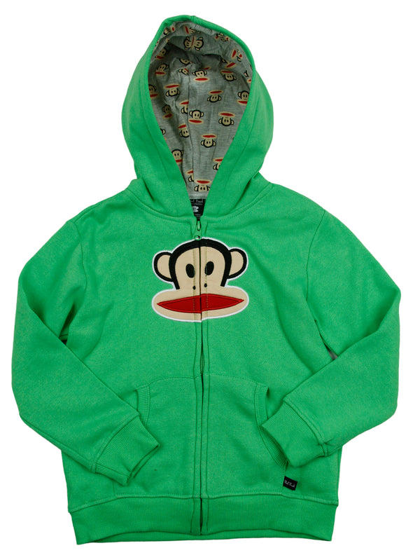 Paul Frank Infant Boy's Julius Core Classic Zip Up Sweater Hoodie, 2 Colors