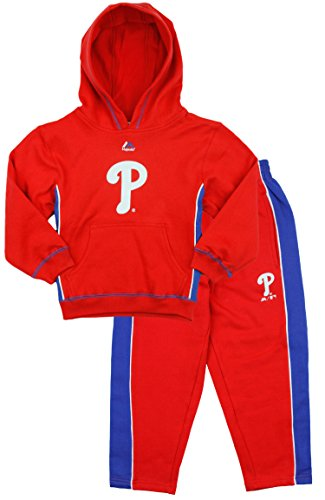 Outerstuff MLB Kids Philadelphia Phillies Stadium Wear Fleece Hoodie & Pants Set