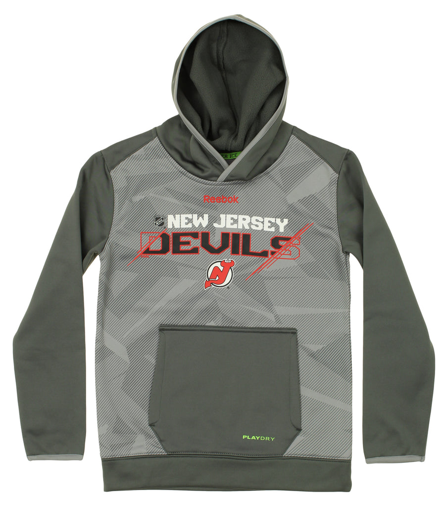 ec74649bf563b Reebok NHL Youth New Jersey Devils Forecheck Hoodie