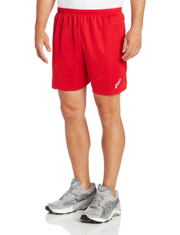 ASICS Men's Cradle Athletic Shorts, Red