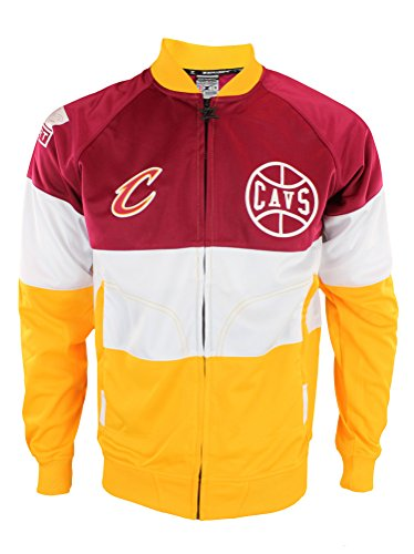 Zipway NBA Mens Cleveland Cavaliers Stamped Full Zip Athletic Jacket
