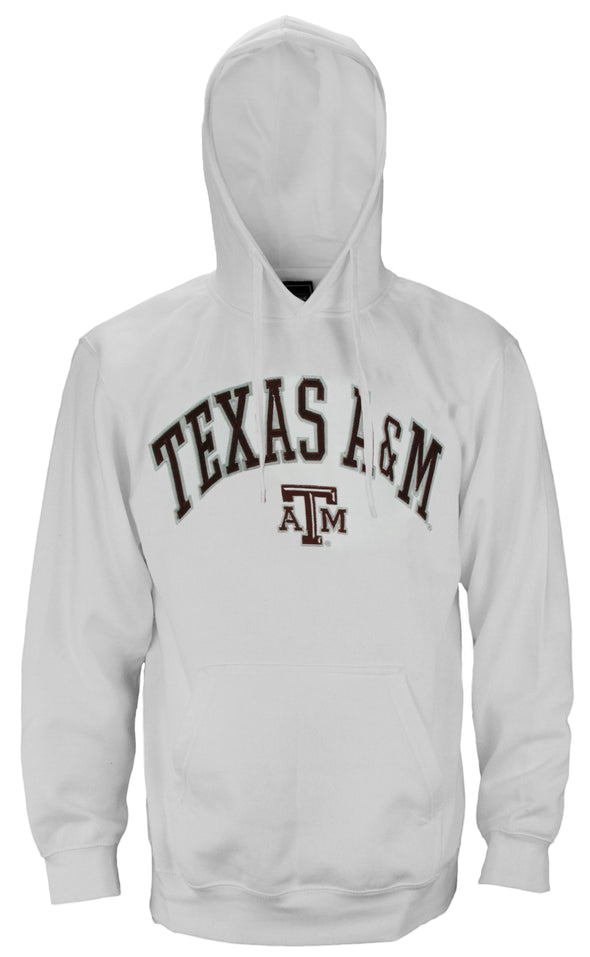 Genuine Stuff NCAA College Men's Texas A&M Aggies Pullover Sweatshirt Hoodie
