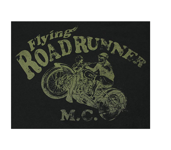 Big Star Men's Flying Road Runners Graphic T-Shirt, Brown