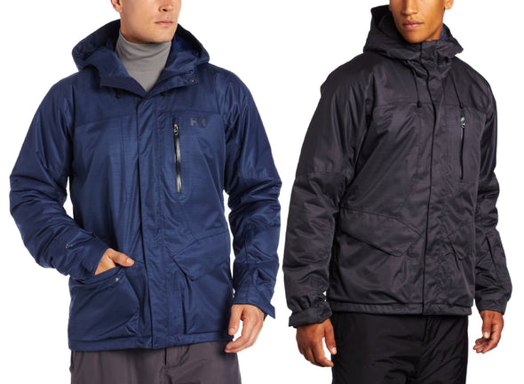 Helly Hansen Men's Clandestine Jacket Coat - Black & Blue