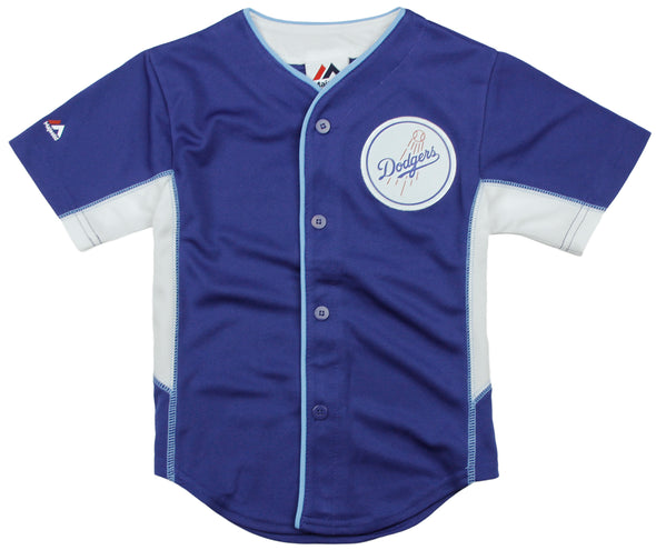 Outerstuff MLB Baseball Toddler Los Angeles Dodgers Team Jersey - Blue