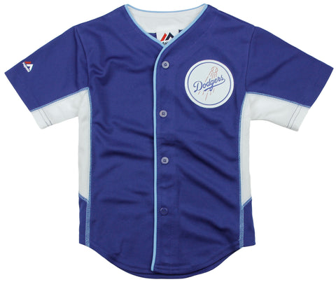 Majestic MLB Baseball Toddler Los Angeles Dodgers Team Jersey - Blue
