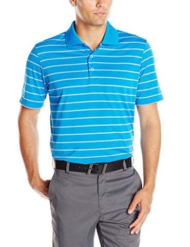 Adidas Golf Men's Puremotion 2-Color Stripe Polo Shirt - Many Colors